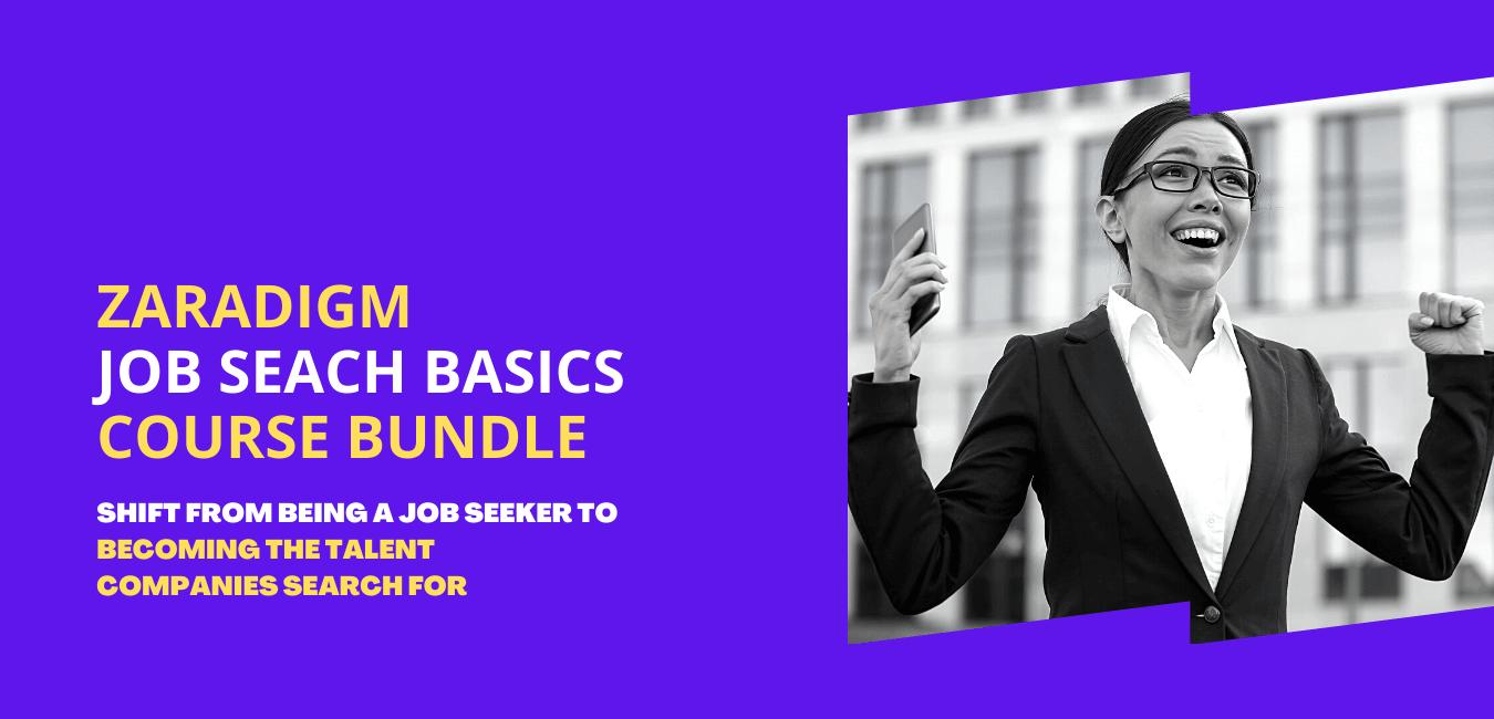 job search basics course bundle